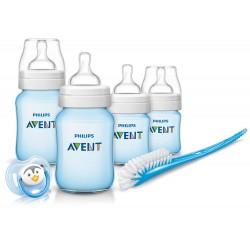 Philips Avent SCD371/16 Newborn baby Bottle Kit 4 bottles Starter Set Classic +