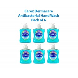 Carex Original Hand Wash | Eco Refill System with Pump 6x 250ml UK Stock