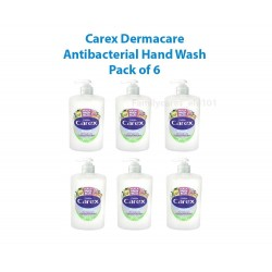 Carex Moisture Hand Wash | Eco Refill System with Pump 6x 250ml UK Stock