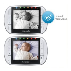 DIGITAL VIDEO BABY MONITOR 3.5IN SCREEN