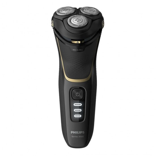 Shaver series 3000 Wet or Dry electric shaver, Series 3000 S3333/54