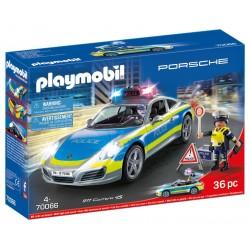 Playmobil Porsche 911 Carrera 4S Police