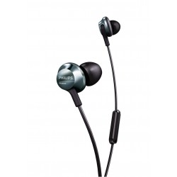 Philips PRO6305BK high-resolution audio in-ear headphones with mic