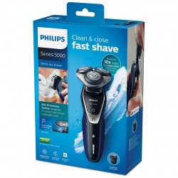Philips Series 5000 S5572/40 Wet and Dry Electric Shaver with Turbo Plus Mode