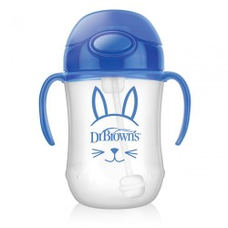 DB 270ML BABY'S FIRST STRAW CUP BLUE
