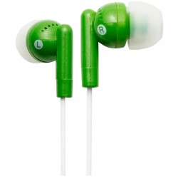 Groov-e GVEB3GN Kandy Earphones - Green
