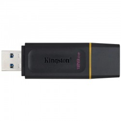 Kingston 128GB DataTraveler Exodia USB 3.2 Flash Drive - Black